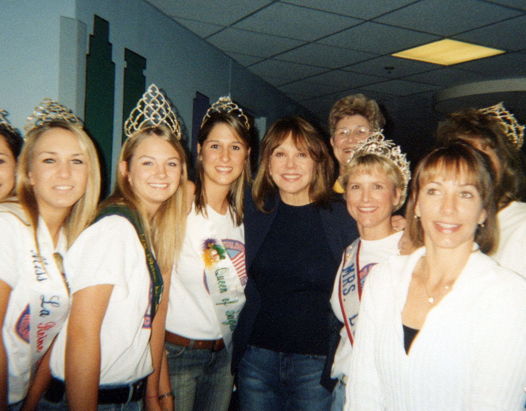 Brittany Herbert and friends at a hospital